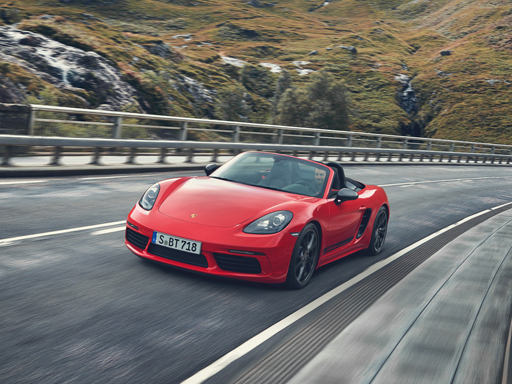 Exklusives Leasingangebot<sup>1)</sup> für private Kunden: Porsche 718 Boxster T
