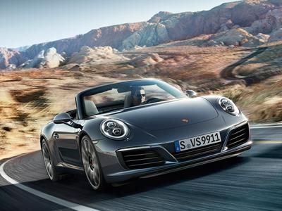 Exklusives Leasingangebot für gewerbliche Kunden: 911 Carrera Cabriolet