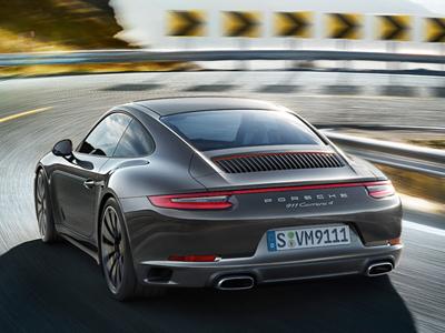 Exklusives Leasingangebot für gewerbliche Kunden: 911 Carrera 4